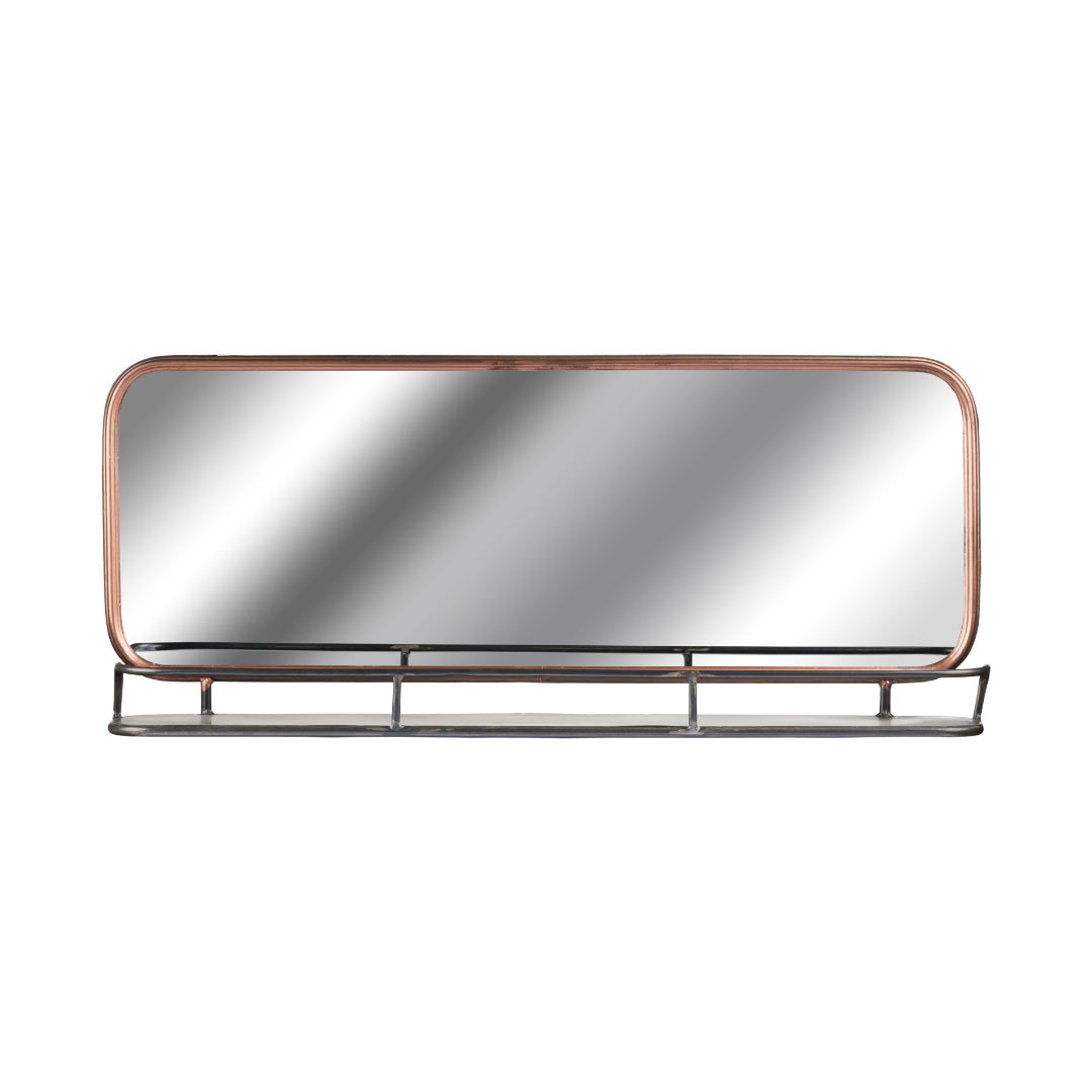 copper-effect-mirror-shelf